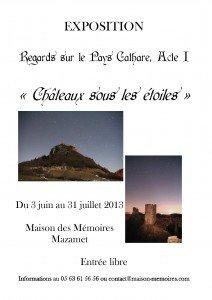 Regards sur le pays Cathare, Acte I dans Actualités expo-lecureuil-212x300